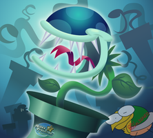Wacky Piranha Plant by MarkProductions