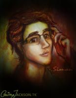 Simon Lewis (Speed Painting) by CarimeJ