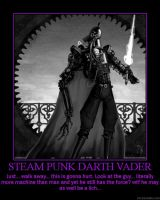 Steam Punk D. Vader by KhaotixDemon