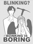 Sherlock Vs Weeping Angel by Fensterseifer
