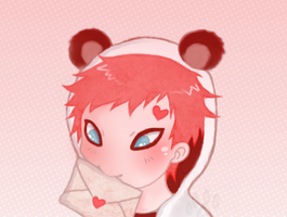 Kawaii Gaara by likos