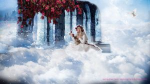 Photomanipulation Trial 1 - Dreams Are Beautiful by shae101s