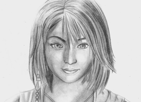 Final Fantasy X - Yuna by ChronicleArtist