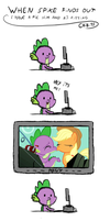 spike finds out by chibi95