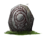 DAY 397. Ancient Stone by Cryptid-Creations