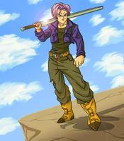 Trunks - The Savior of Time by CrimsonCypher