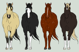 Pregnant mares 1 - WINNERS by DeLaMuerte-Stables
