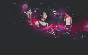 Kim Hyun Joong Wallpaper by lady-alucard