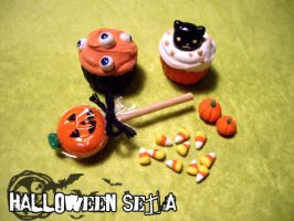 Halloween Sweets Set by whitefrosty