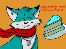 Happy Birthday Voxian by Anime-Wolf-08