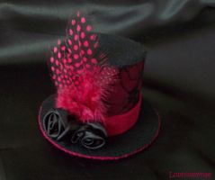 Feathered Lolita Hat by Lophiomyinae