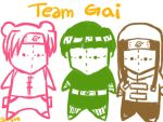 Team Gai plushies by shoyo4