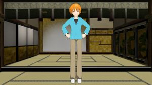 MMD-Kyo Sohma by luckygirl88