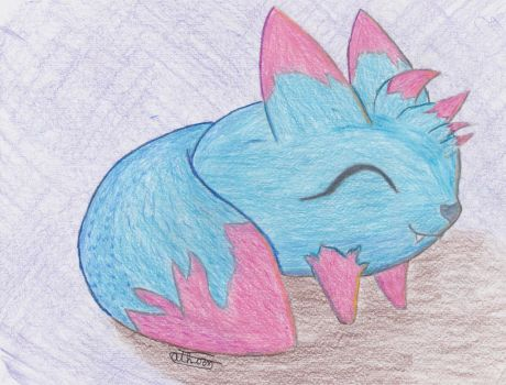 Berry the Viximon (Needs a Tamer!) by ThornWolf33
