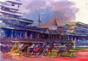 derby sketch by charles-hall