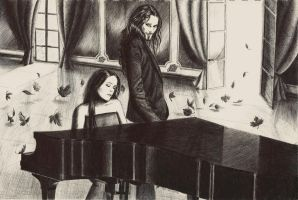 The composer and the diva by Oceansoul7777