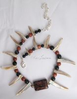 Goldstone Mix Necklace by Entophile