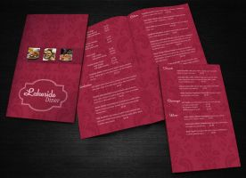 Lakeside Diner Restaurant Menu Revised by dizzyflower28