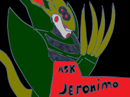 Ask Jeronimo by pd123sonic