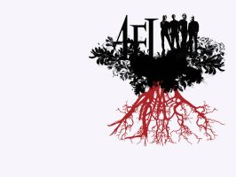 AFI Wallpaper - Red Roots by echoing0comfort
