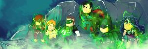 Scribblenauts: Justice League by tyzranan