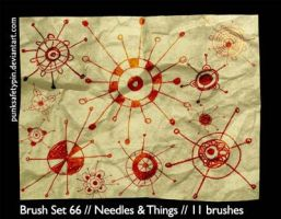 BrushSet66-Needles and Things by punksafetypin