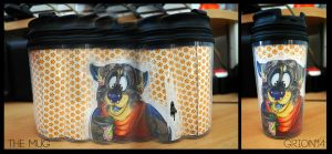 Grion travelling mug by Grion