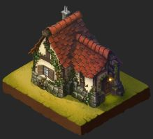 First attempts with isometric art by Oz-Blackmore