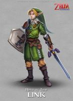 Legend of Zelda - Link by Bendragonx