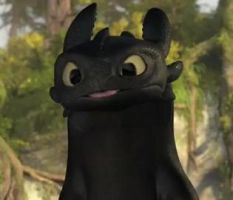 Toothless Showing Tongue by TheBandicoot