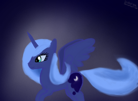 Season 1 Princess Luna by Sludge888
