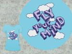 Fly Your Mind T Design by pica-ae