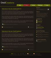 One3Creations WordPress by One3Creations
