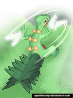 254 - Sceptile by nganlamsong