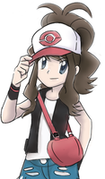 Black-White Trainer Speedpaint by KitsuneInari
