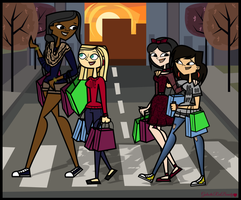 TDPI Shopping Day-With Pahkitew Girls by Galactic-Red-Beauty