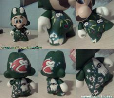 frog suit mario munny collage by gracie547