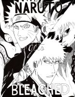 Naruto Gets Bleached: Title Page by NateParedes44
