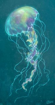 Glow Bright Jellyfish by GoldenDruid