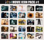 2014 Movie Folder Icon Pack by sonerbyzt