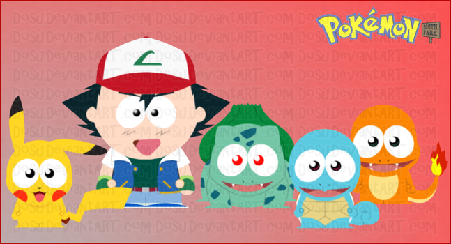 Pokemon Goin' to South Park by Dosu
