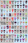 100 Adopts Special OPEN by Kariosa-Adopts