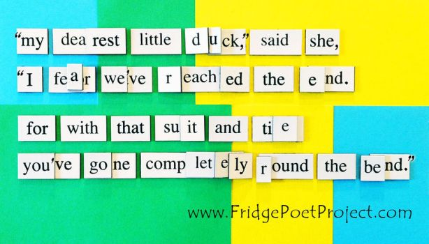 The Daily Magnet #354 - BOP by FridgePoetProject