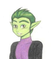 Beast Boy by SparklinBurgndy