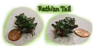Rathian Tail Charm by CatCowProduce