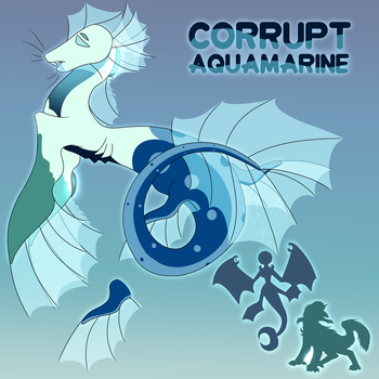 Aqua Corrupt by PineappleSan