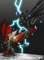 Dante Vs Blade by Flo-Jitz