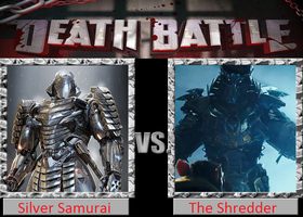 Death Battle: Silver Samurai Vs The Shredder by DarkKomet