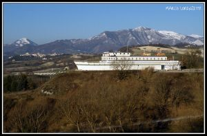 GENGA (AN) - A SHIP ON THE HILLS by MarcoLorenzetti