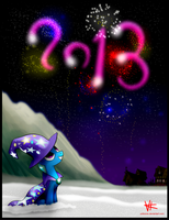 Happy New Year 2013! by unitoone